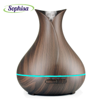 Sophisa 400ml Aroma Essential Oil Diffuser Ultrasonic Air Humidifier 7 Color Changing Led Grow Light Baby