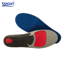 Bocan Orthopedic insoles for flat foot arch support cushion shock absorption pads for sport running 2 sizes shoe insole for 6009