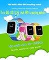 1 unids 2016 GPS Reloj GPS Tracker Reloj para Niños Seguros Q60 0.96 pulgadas LCD inteligente Reloj SOS Llamada Localizador Del Buscador Del Perseguidor Anti perdido