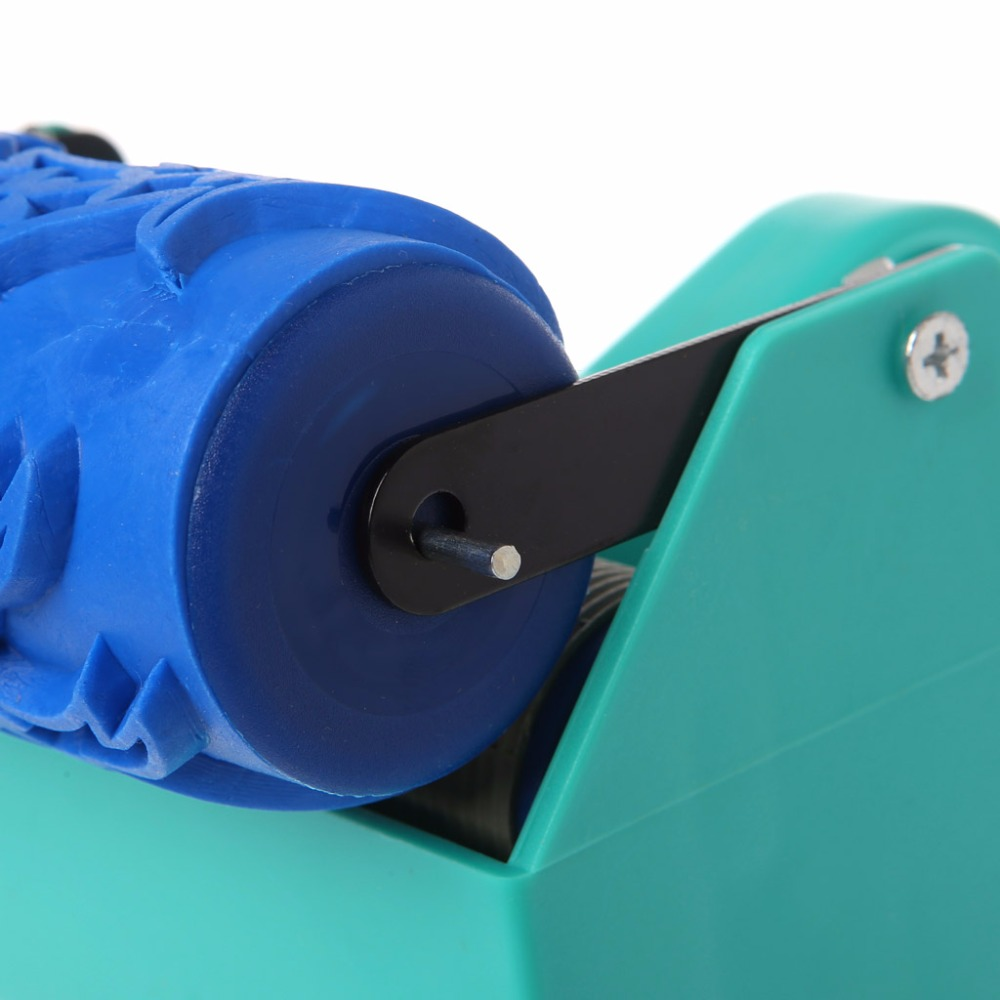 Single Color Decoration Paint Painting Machine For 5 Inch Wall Roller Brush Tool Green
