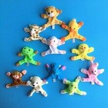 Fridge Magnets Souvenir Kids Cute Cartoon Plush Animal 5pcs for Refrigerator