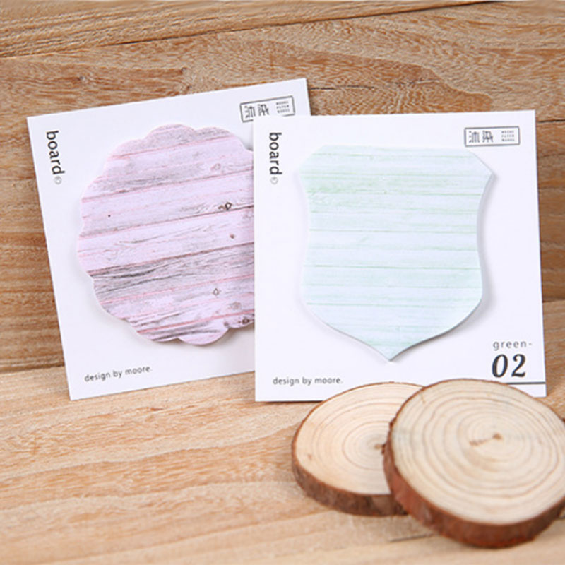 4pcs/lot Colorful board memo pad paper post notes sticky notepad kawaii stationery papeleria office school supplies kids gift