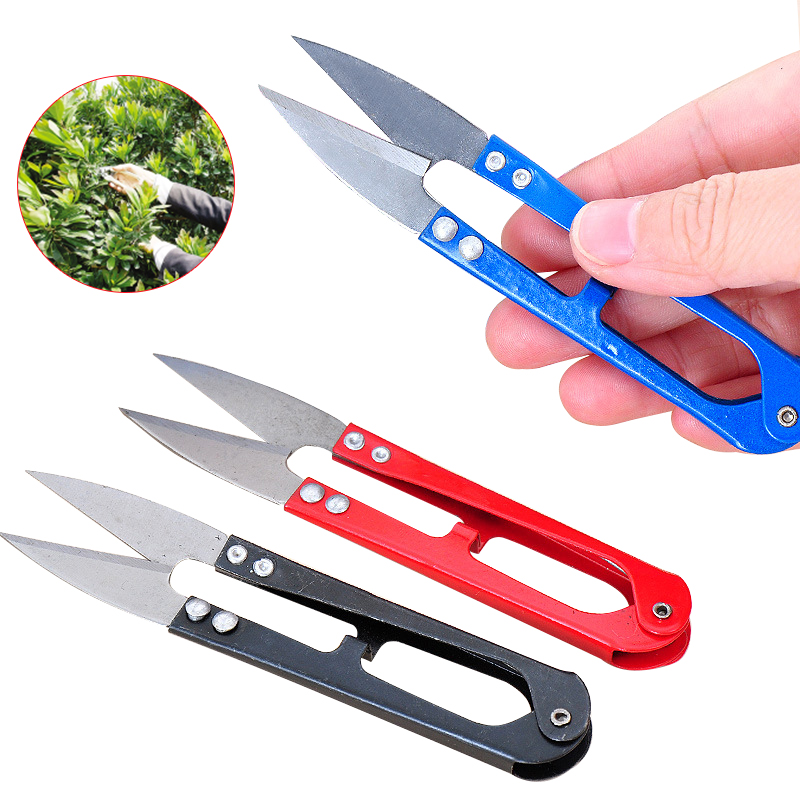 RDDSPON 3Pcs Pruning Shears Mini Sharp Scissors Gardening Plant Scissor Branch Pruner Trimmer Tool Sewing Clothes Thread Cutting