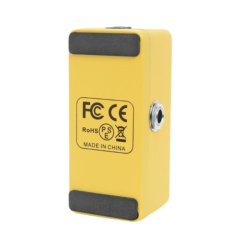 US $23 78 36% OFF|CUVAVE DIST SC1 Zinc Alloy Distortion Guitar Effect Pedal  with True Bypass Guitar Parts-in Guitar Parts & Accessories from Sports &