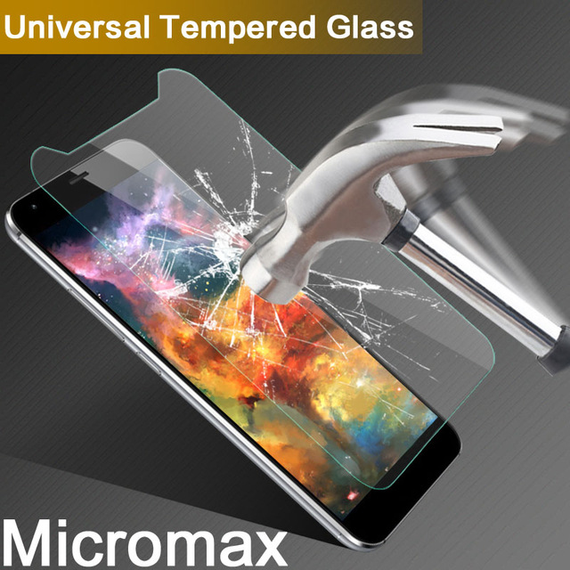 Tempered Glass For Micromax Q4202 Q465 Q409 Q351 Q380 Phone Screen Protector Film Protective Screen Cover For Micromax Q465