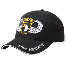 US 101st airborne division baseball cap military army snapback hat adjustable embroidered hip hop snapback golf cap sun hat