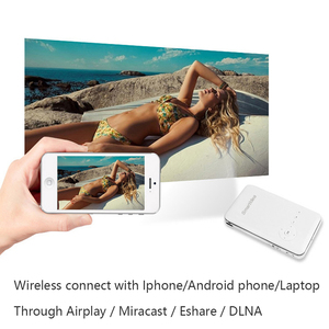 Image 3 - SmartIdea Android 7.1.2 5000mAh Battery Handheld Mini LED Projector WiFi Bluetooth DLP 1080P Beamer Support AirPlay Miracast AC3
