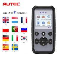 Autel ML629 CAN OBD2 Car Diagnostic Tool Scanner Code Reader +ABS/SRS Auto Diagnostic Tool Scanner OBD2 Auto Scanner Automotivo