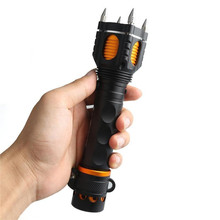 2000 lumens T6 LED Flashlight 5 Mode High / Middle / Low / Strobe / Sos XM-L T6 Hand Aluminum Alloy Torch Light Lamps