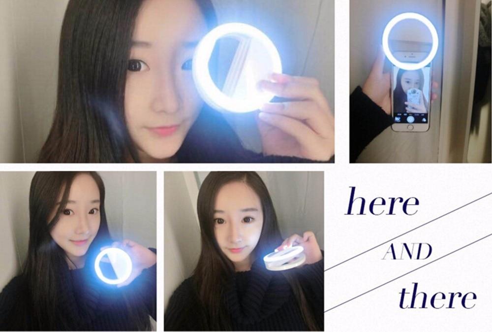Noble ontwerp Luxe LED Flitslicht Selfie Lichtgevende telefoon Ring - Camera en foto - Foto 4