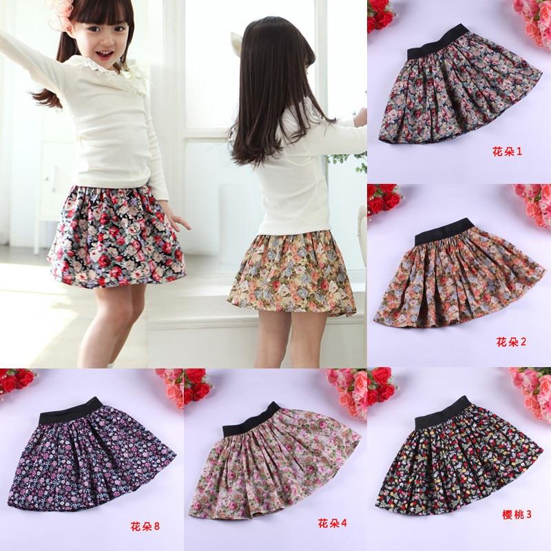 Spring Autumn Children Clothing Girls Skirts Tutu Faldas Kids Clothes Baby Pettiskirt Clothing Casual Knitting Party jenya children clothing autumn