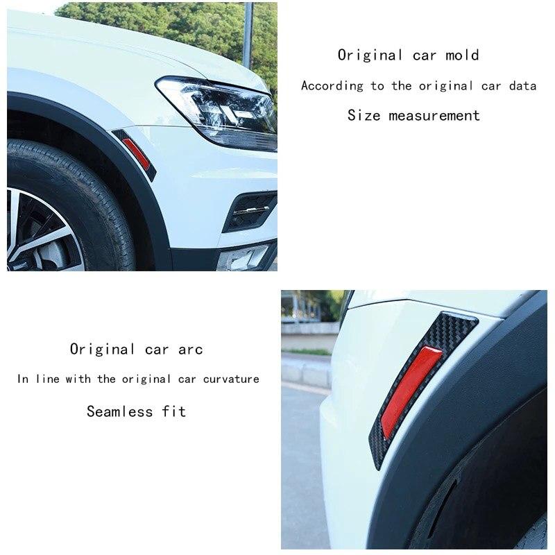 Image 3 - Автомобильные наклейки на двери, колеса, брови, автомобильные светоотражающие наклейки для BMW, Volkswagen, Toyota, Ford, Mazda, Audi, украшения для тела, светящиеся-in Светоотражающие ленты from Автомобили и мотоциклы