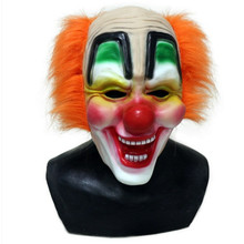 Halloween Latex Shawn Crahan Original Funny Clown Slipknot Mask