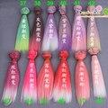 Бесплатная доставка 15 см оптовые Прямые Волосы DIY Волосы/парики Для БЖД для monster high для куклы барби