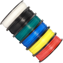 PLA Black/white YOUSU filament plastic for 3d printer/ 1kg 340m/ PETG/PLA / shipping from Moscow