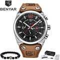 2019 BENYAR メンズ腕時計トップブランドの高級男性の軍事スポーツ腕時計メンズカジュアル防水クォーツ腕時計レロジオ Masculino