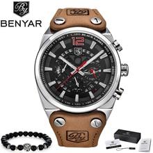 2019 BENYAR Mens Watches Top Brand Luxury Mens Military Sports Watch M
