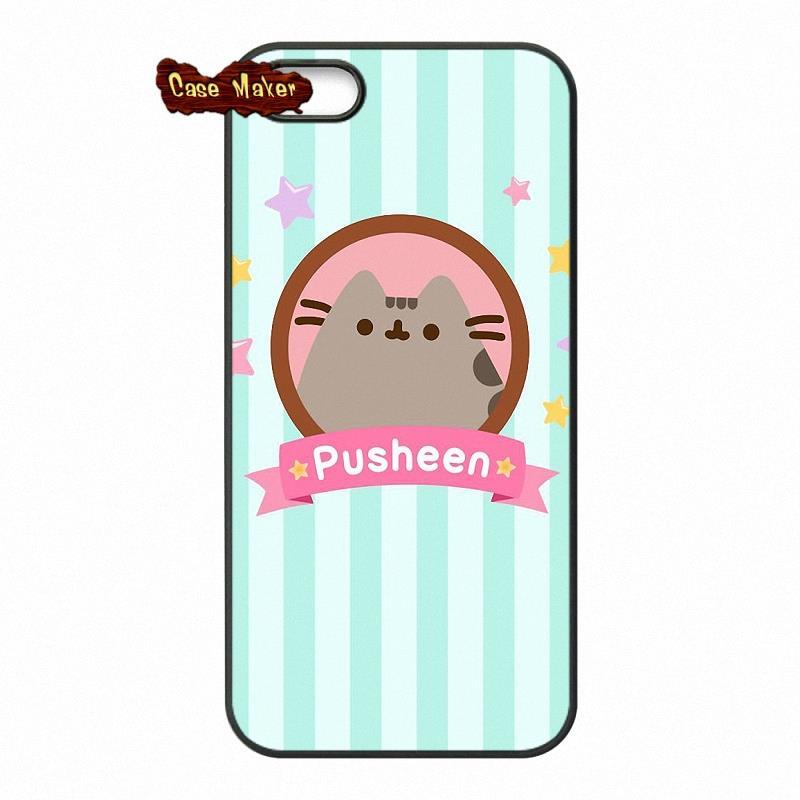 newest 03934 37c91 US $4.95 |Cute Pusheen Cat Background Pattern Case Cover For Xiaomi Mi3 Mi4  Mi5 Mi4C Hongmi Redmi Note 2 3 Samsung Galaxy Alpha A9 E5 E7-in ...