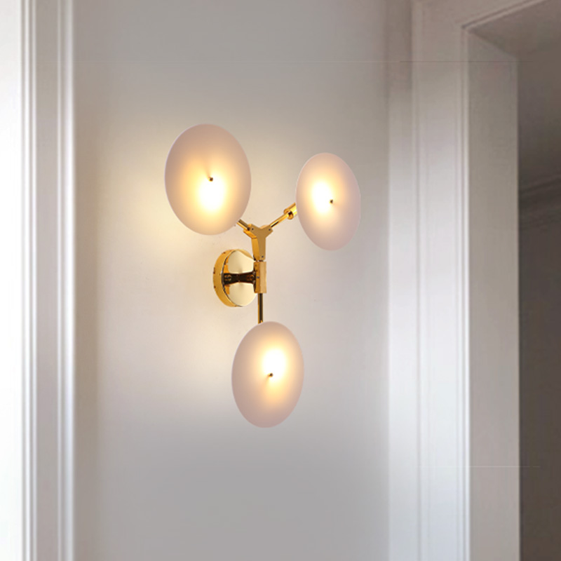 Nordic LED Sconces Wall Lights Lighting Loft Bedroom Industrial Decor Loft Wall Lamp Home Aisle Wall Lamp Modern Sconce Fixtures