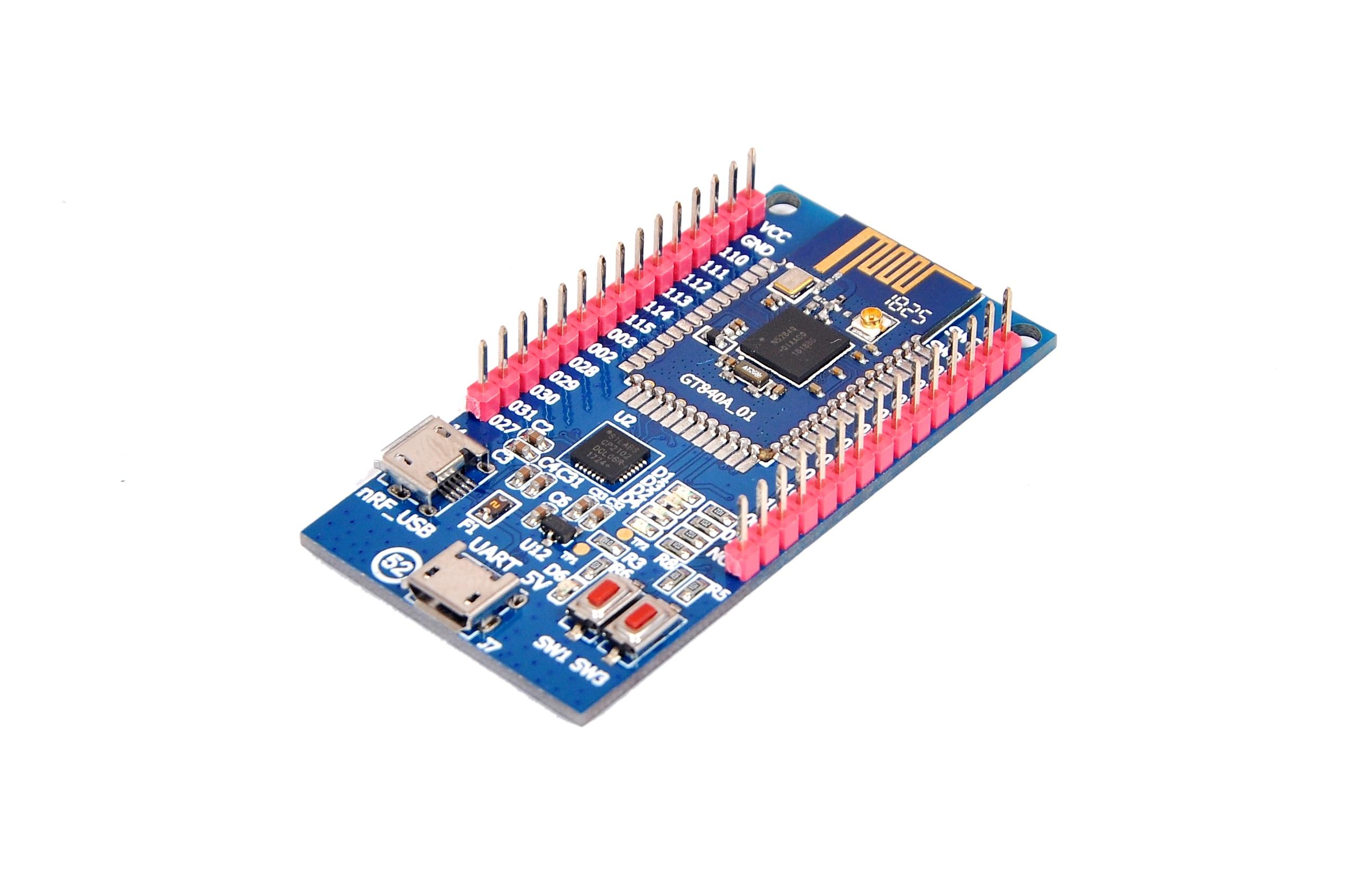 NRF52840 panneau de développement Bluetooth 5 maille ZIGBEE Bluetooth faible consommation d'énergie