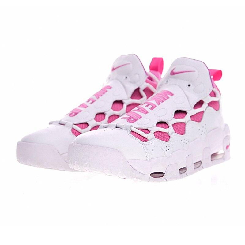 b3d805785e2 Nike Air More Money Pink QS Women Running Shoes