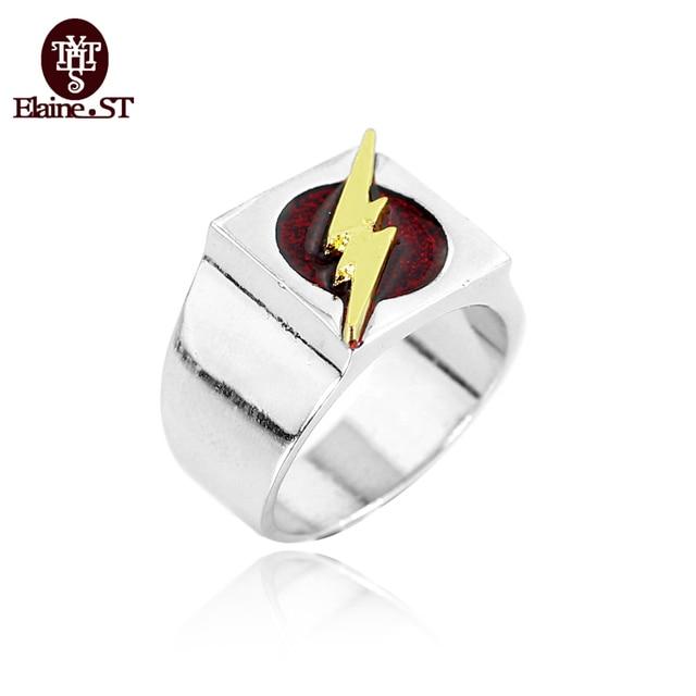 Freies Verschiffen Dc Comic Die Flash Ringe Super Hero Ring Fur