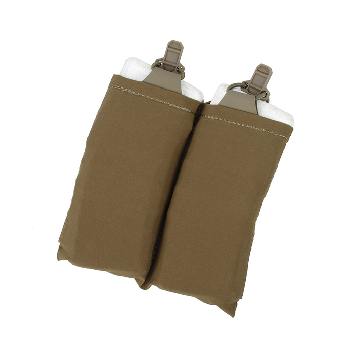 Tactical Double Side Magazine Pouch for SS Plate Carrier Coyote Brown Black(XTC051055)
