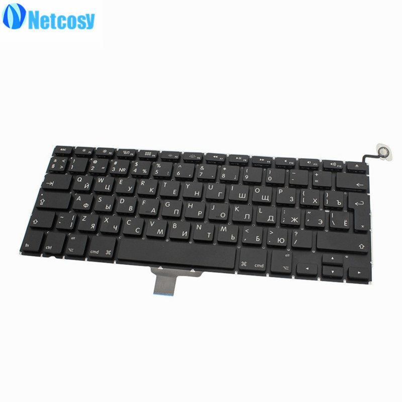 Netcosy New RU Version keyboard For Macbook Pro 13
