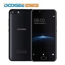 Оригинал Doogee Стрелять 2 MT6580A Quad Core Android 7.0 1 ГБ RAM 8 ГБ ROM Мобильный Телефон 5.0 дюймов 1280×720 3360 мАч Разблокировать смартфон