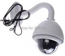 MINI 4 Inch CCTV 100X 480TVL 256 Preset 3.8-38mm PTZ Camera