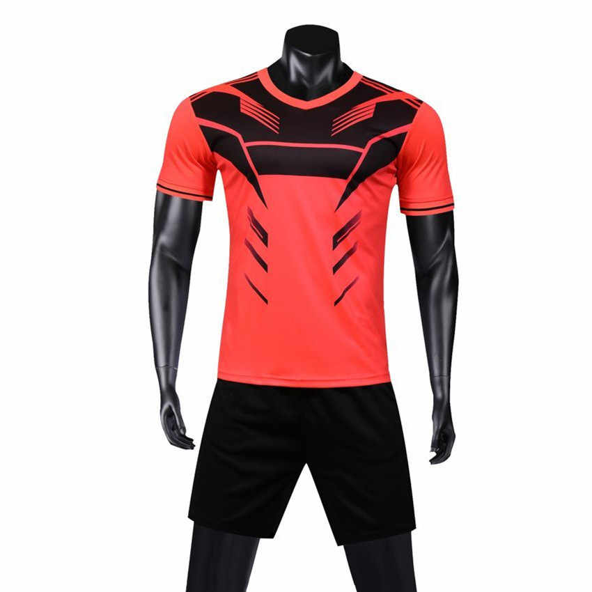 ... Для мужчин Трикотаж s набор футбольный трикотаж тренировочный костюм  форма спортивный комплект костюмы Maillot De Foot ... 39b3acdf5cf