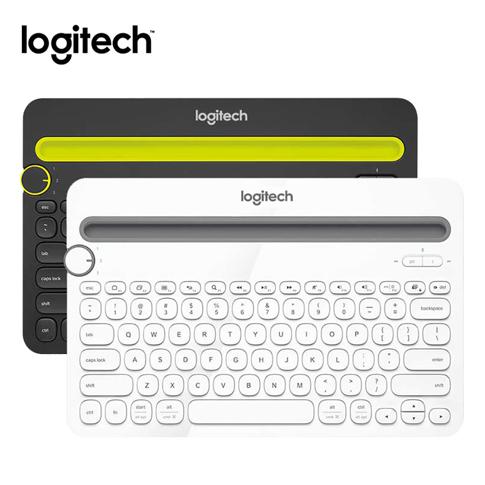 Logitech K480 Multi-function Wireless Bluetooth Mini Waterproof Keyboard with 82 keys for Smartphones Tablet Desktop Computer mini bluetooth keyboard 80 keys black