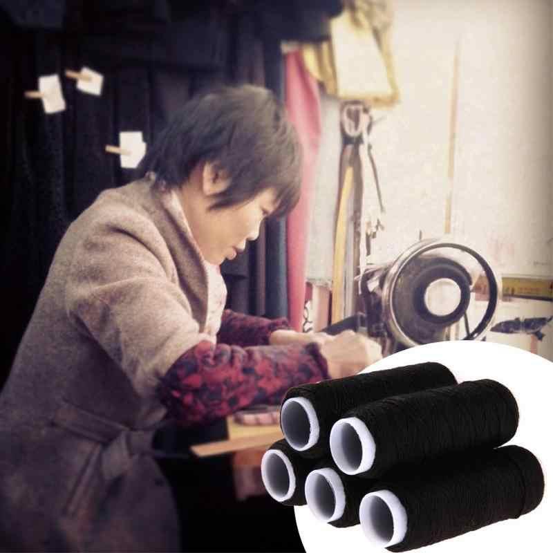 10 Pcs 50M Resistente Rocchetti di Filo per Cucire per Cucire Filo di Poliestere Vestiti Fai da Te Accessori per Il Cucito Forte Filo da Ricamo per Cucire