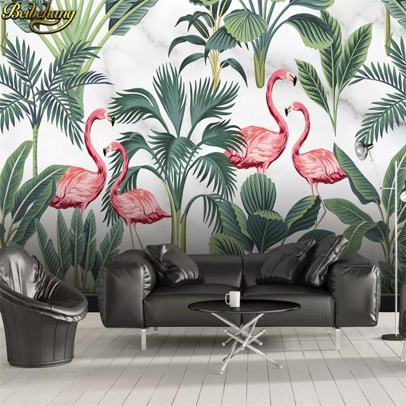 Beibehang Custom Nordic Simple Flamingo Tropical Leaves Mural Wallpaper Home Decor Landscape Wall Painting Photo Wall Paper Roll Wallpapers Aliexpress Free for commercial use no attribution required high quality images. beibehang custom nordic simple flamingo tropical leaves mural wallpaper home decor landscape wall painting photo wall paper roll