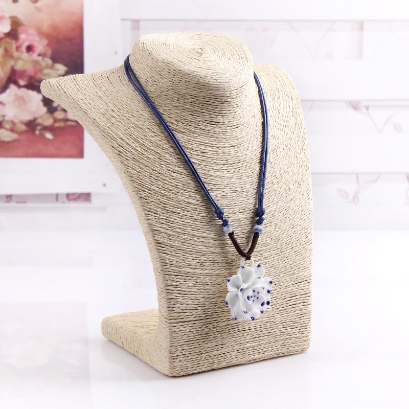 Fashion Necklace Stand Jewelry Model Mannequin Display Necklace