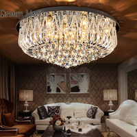 Living Room Lamp Crystal Lamp Dome Light Ceiling Lamp LED Modern Simple European Style Bedroom Lamp