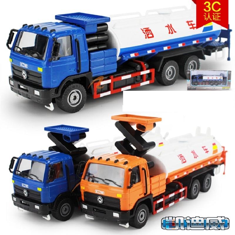 Kids Cars Toys Set Inertia Pull Back Engineering Car Model Children Road Sprinkler Vehicles Toy For Boys Birthday Gifts