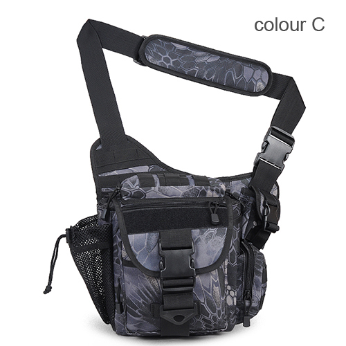 Army Messenger camera bag men women outdoor cycling saddle bag Tactical  camouflage Durable single shoulder bag e540833524