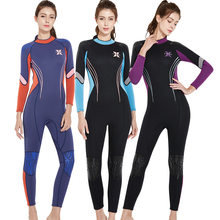 Women 3mm Keep Warm Wetsuit 2018 New Diving Suit Swimwear Full Body Rash Guard Jellyfish Clothes Snorkeling Wetsuits Swimsuit(China)