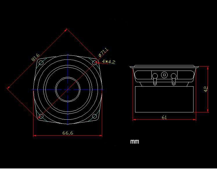 GHXAMP 2.5 inch 4ohm 15W HIFI Full Range zvučnici 2.1 Desktop - Prijenosni audio i video - Foto 6