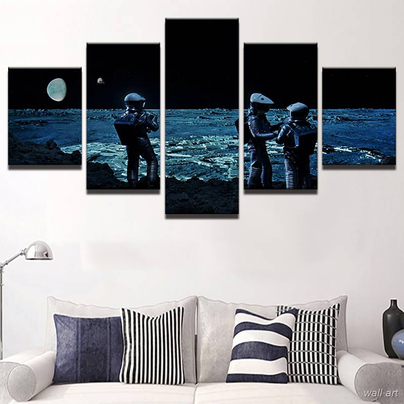 √Modern Oil Canvas Painting For Room Wall Art Frames 5 Panel Movie ...