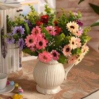 vase/ European snow Daisy Ono Kikukinuka sun flower simulation room placed Floral artificial flowers cheap quality Flowers