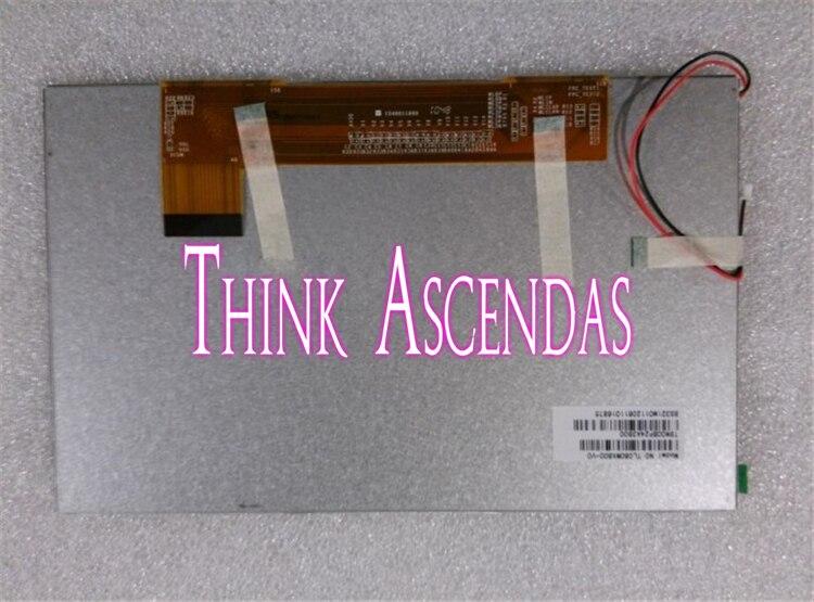 1 pièces nouveau Original nouveau TM080SDH00/TM080SDH01/TM080XFH02 8.0 pouces TFT LCD écran tactile numérique