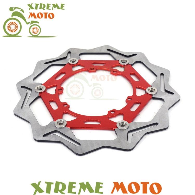 270MM Front Floating Brake Disc Rotor For Honda CRF230 CR125R CR250R CR500R CRF250X CRF250R CRF450X CRF450R Motorcycle Dirt Bike motorcycle front and rear brake pads for honda cr125r cr250r cr500r cr 125 250 500 r 1987 2001