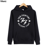 Foo Fighters FF Men Hoodies Brand Clothing Male Hard Rock And Roll Band Mens Homme Hoodie