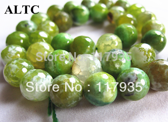 "Wholesale Round Carnelian Agat beads Ball Beads for jewelry making 15"" 8-10mm Facet Green Dragon Vein Natural Stone beads Onyx"
