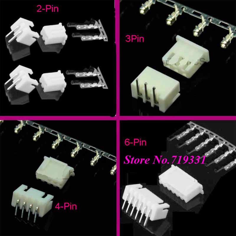 50sets Micro JST XH 2.54mm 2p 3p 4p 5pin Female +Male Right Angle Connector Pin Header + Housing+ Terminal  6p 7p 8p 9p 10p50sets Micro JST XH 2.54mm 2p 3p 4p 5pin Female +Male Right Angle Connector Pin Header + Housing+ Terminal  6p 7p 8p 9p 10p