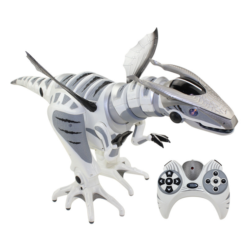 [Drôle multi-fonction jurassique détection intelligente télécommande infrarouge RC robot programmation mécanique dinosaure robosaur jouet