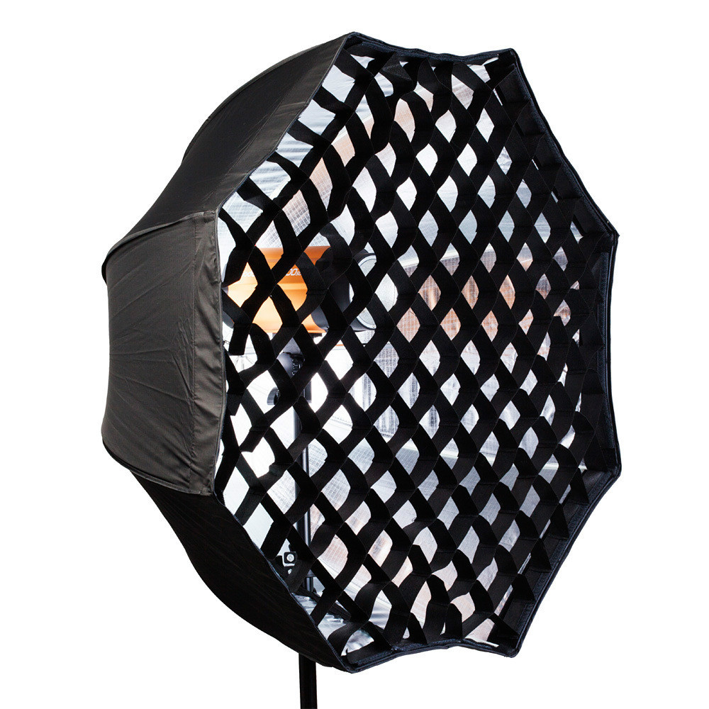 Octagon Umbrella Speedlite Softbox: 120cm Portable Octagon Flash Softbox Umbrella Brolly