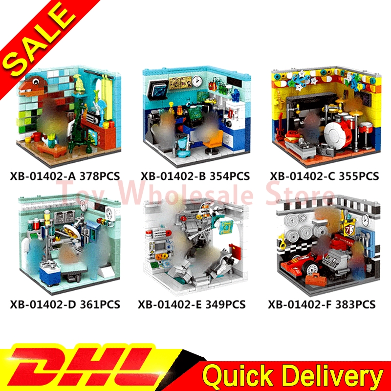 XINGBAO 01402 Genuine Building Series The Future Dreams House Set Building Blocks Bricks Educational Kid Toys Gifts Lepin игровые коврики smoby winx со звуком